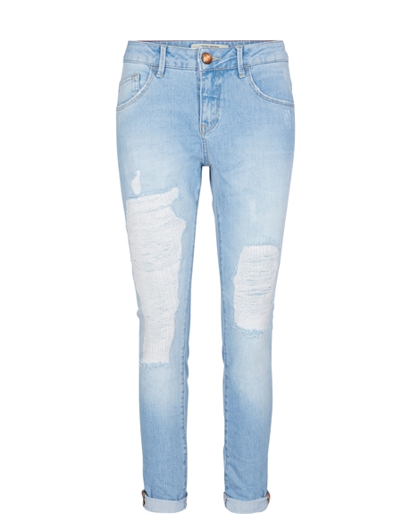 122370 - Bradford Bleach Jeans - Pack Front