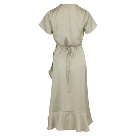 e704749d369 NEO NOIR Magga Solid Dress Dusty Army