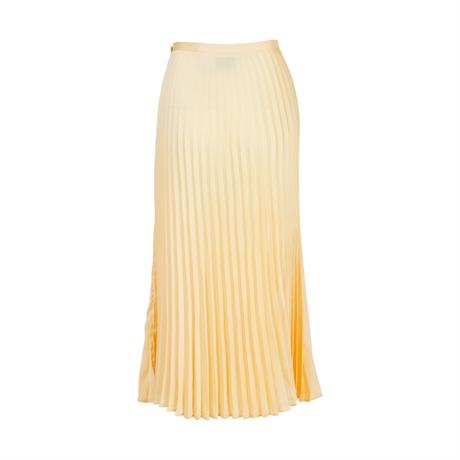 1d4817831d NEO NOIR Claire Plissé Skirt Light Yellow