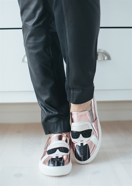 Karl Lagerfeld KUPSOLE Karl Ikonic Slip-on 7ZEWroC