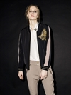 120080 119240 120090 - Alexa Gold Bomber  Bowie Glam Silk Shirt Milton Gold Pant - LookBook