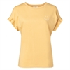 cotton-t-shirt-with-pleated-sleeves-and-quoteyellow